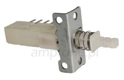 Przełącznik przyciskowy ALPS isostat 2x6