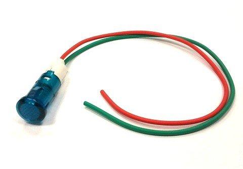 Lampka / kontrolka, niebieska x11