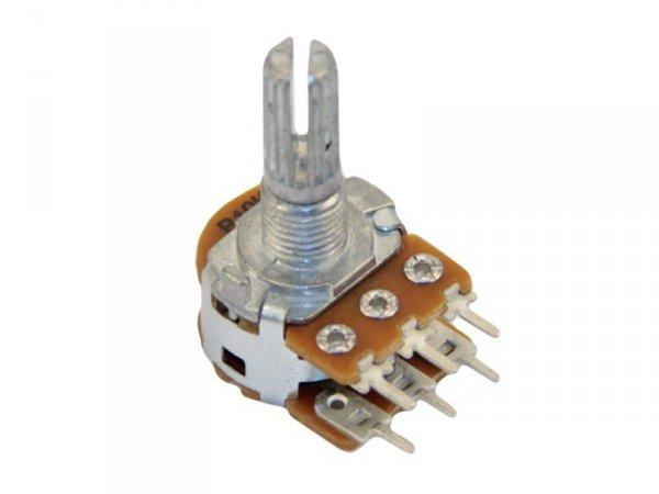 2x100k/A logarytmiczny stereo PCB standard