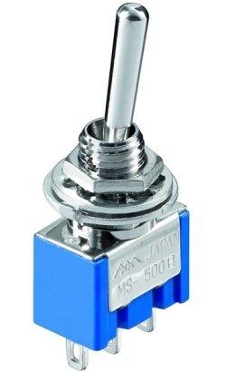 Przełącznik dźwigniowy SPDT MIYAMA mini