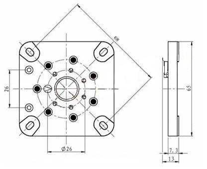 Podstawka 7pin typ1 septar 6C33C