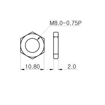 Nakrętka M8