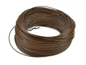 Kabel jednożyłowy brązowy H05V 1x0,35mm2