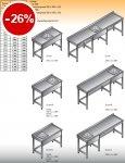 Stół zlewozmywakowy 1-zbiornikowy lo 201 - 600x600