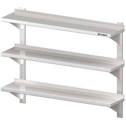 Półka wisząca, przestawna,potrójna 600x400x930 mm