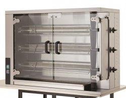 Rożen   opiekacz do kurczaków gazowy   wsad 15 kurczaków CRG3