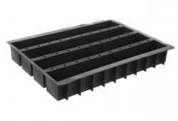 Forma silikonowa do pieczenia 600x400 mm - Cake 4 bars