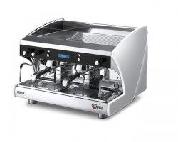 Ekspres do kawy WEGA Polaris 2-grupowy z automatycznym spieniaczem oraz podwyższonymi grupami - kod EVD2PRHAUT