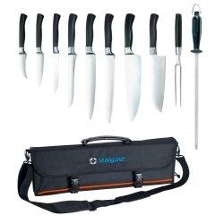 zestaw noży kutych Elite w pokrowcu Stalgast