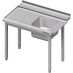 Stół załadowczy(L) 1-kom. bez półki do zmywarki STALGAST 1200x750x880 mm skręcany