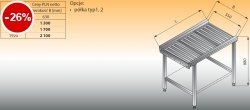 Stół przelotowy z rolkami lo 370 - 960x630 Lozamet