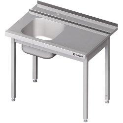 Stół załadowczy(P) 1-kom. bez półki do zmywarki STALGAST 1300x750x880 mm skręcany