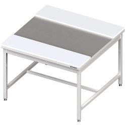 stół centralny z płytami polietylenowymi 1800x1200x850 mm spawany