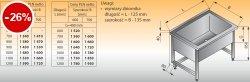 Basen wysoki przyścienny lo 408 - 900x600 g400