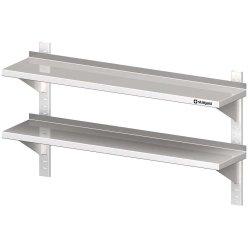 Półka wisząca, przestawna,podwójna 1000x300x660 mm