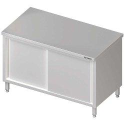 Stół centralny,przelotowy z drzwiami suwanymi 1400x700x850 mm