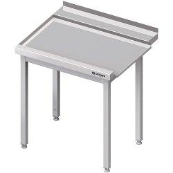 Stół wyładowczy(L), bez półki do zmywarki STALGAST 1200x750x880 mm spawany