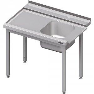 Stół załadowczy(L) 1-kom. bez półki do zmywarki STALGAST 1400x750x880 mm skręcany