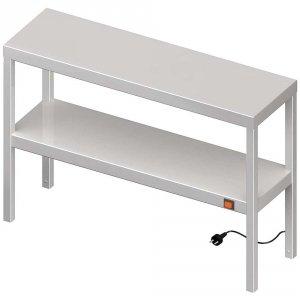 Nadstawka grzewcza na stół podwójna  900x300x700 mm