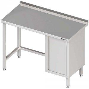 Stół przyścienny z szafką (P),bez półki 1900x600x850 mm