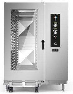 Piec konwekcyjno-parowy elektryczny Alphatech by Lainox | LVES202 | 61,8kW | 20xGN2/1-40xGN1/1