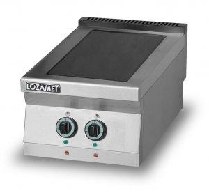 Kuchnia elektryczna z płytą ceramiczną 2-polową L900.KEC2 Lozamet
