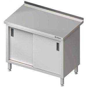 Stół przyścienny z drzwiami suwanymi 1600x700x850 mm
