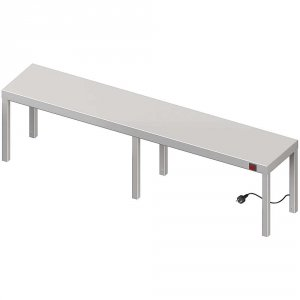 Nadstawka grzewcza na stół pojedyncza 1600x400x400 mm