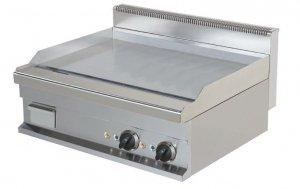 Płyta grillowa elektryczna nastawna   gładka   EG721-S   8,1 kW