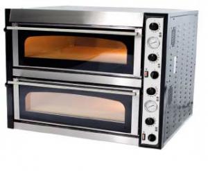 Piec do pizzy elektryczny | dwukomorowy | 12x36 | szeroki | TOP 66 XL/L (TecPro66 BIG/L)