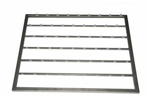 Półka ze stali nierdzewnej GN 2/1 | akcesoria do szafy do sezonowania ZERNIKE | K70150GRI