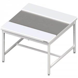 Stół centralny z płytami polietylenowymi 1400x1400x850 mm spawany