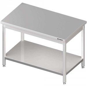 Stół centralny z półką 1800x700x850 mm skręcany