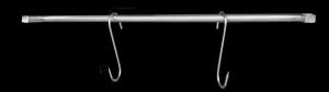 Prowadnica na haki | akcesoria do szafy do sezonowania ZERNIKE | KGANC90