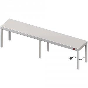 Nadstawka grzewcza na stół pojedyncza 1700x300x400 mm