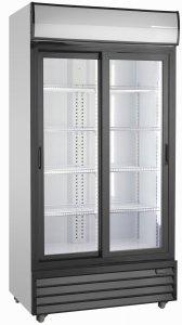 Szafa chłodnicza przeszklona   764 l   SD1002SLE (RQ1100SL)