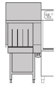 Narożny moduł suszący do zmywarek KRUPPS EVOLUTION LINE | EV-ASC90