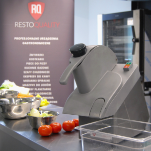 Szatkownica do warzyw RQ1040 | 1,04 kW | 400V | regulowane tarcze | 2 lata gwarancji