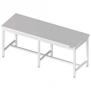 Stół centralny bez półki 2600x800x850 mm spawany
