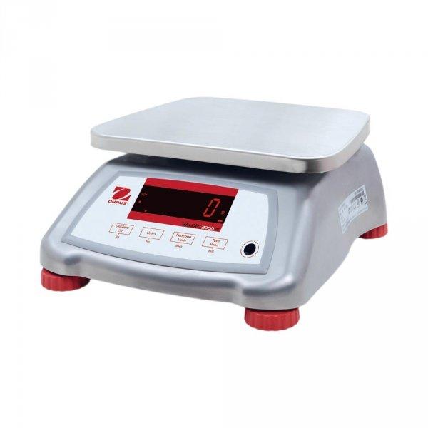 waga pomocnicza, wodoodporna, stal nierdz., zakres 3 kg, dokładność 0.5 g