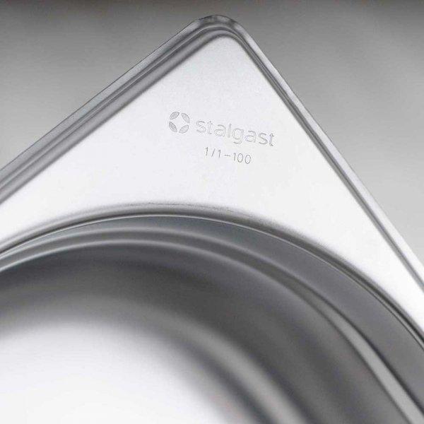 pojemnik stalowy, GN 1/6, H 65 mm
