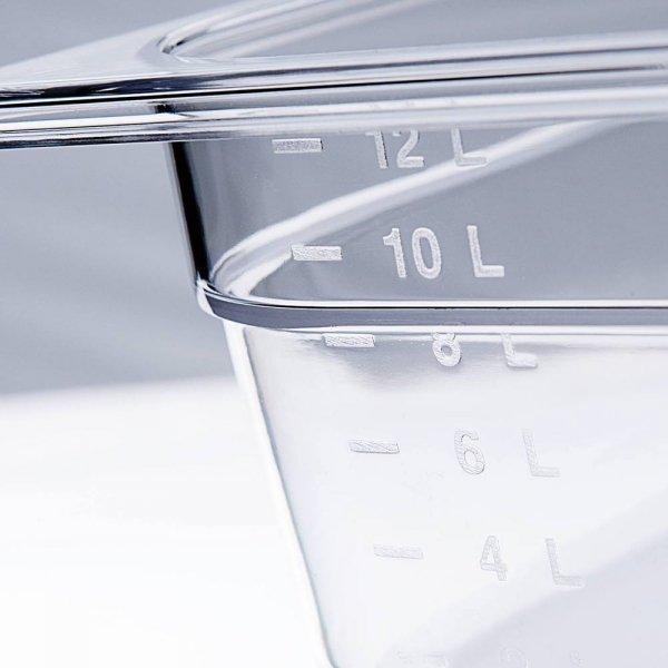 pojemnik z poliwęglanu, GN 1/4, H 150 mm