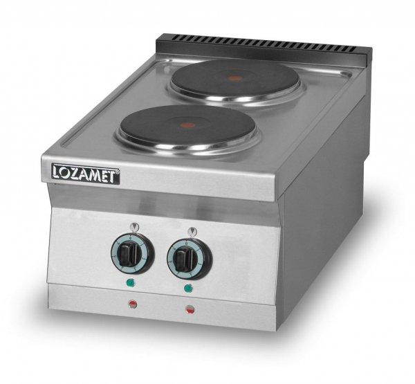 Kuchnia elektryczna 2-płytowa L700.KEO2 Lozamet