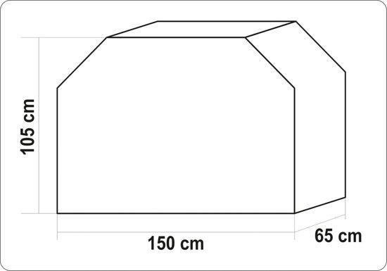 POKROWIEC NA GRILLA 150 X 65 X 105CM