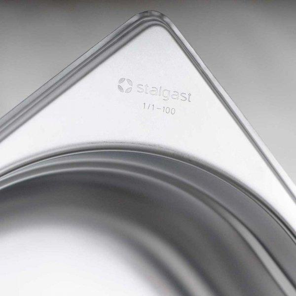 Pojemnik stalowy GN 1/4, H 65 mm