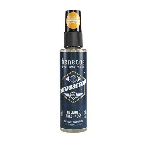 BENECOS For men only – Naturalny odświeżający deo spray dla mężczyzn 75ml