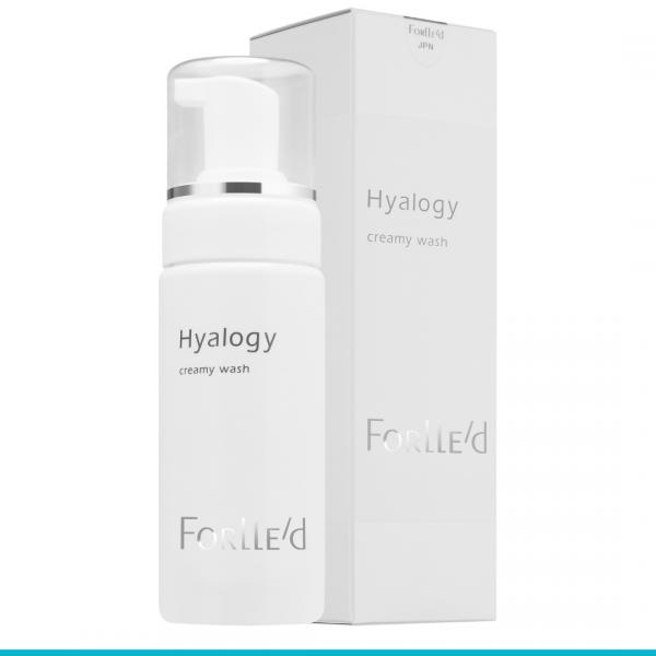 Hyalogy Creamy Wash lekka oczyszczająca lekka pianka do twarzy 150 ml