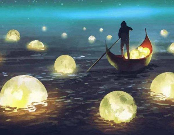Haft Diamentowy Magiczna Noc 45x55 cm