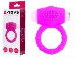 A-Toys Poweful Cock Ring wibrujący silikonowy ring erekcyjny na penisa