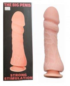 Dildo Big Penis Strong duży członek na przyssawkę